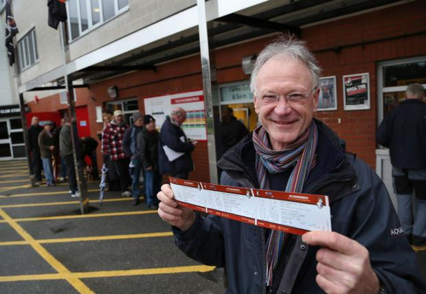 Bournemouth Echo: Bring it on, Liverpool! AFC Bournemouth fans queue for tickets for FA Cup clash