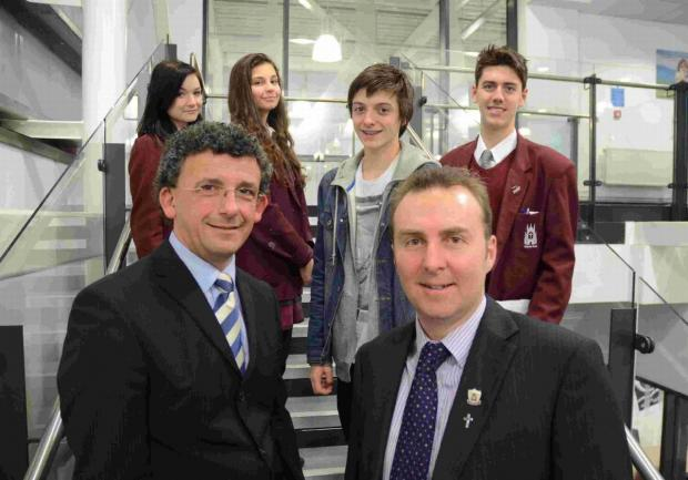 DOWN TO BUSINESS: Pupils at the academy will be ready for the world of work