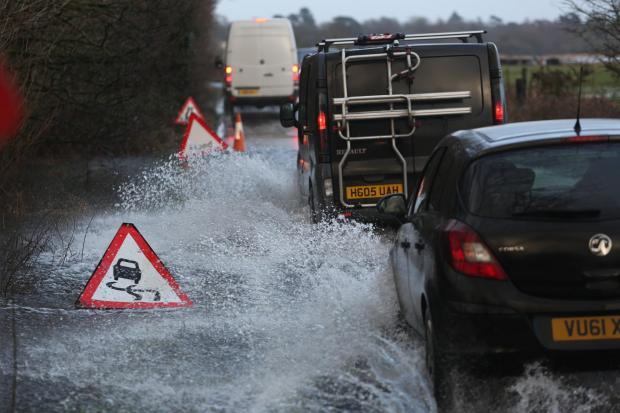 Bournemouth Echo: Avon Causeway has also been closed