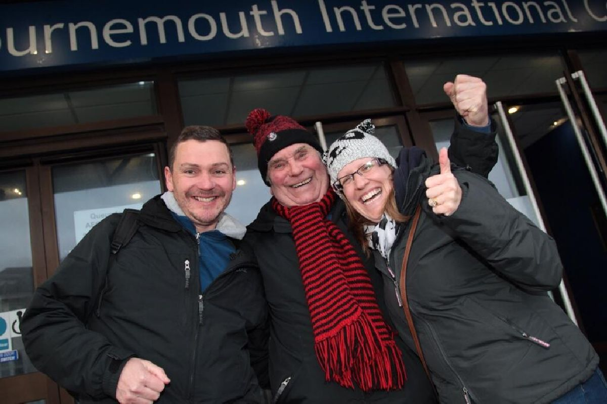 UPDATE WITH VIDEOS: AFCB vs Liverpool tickets sold out after fans queue through the night