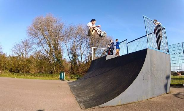 Bournemouth Echo: Wheels in motion for Lymington skate park