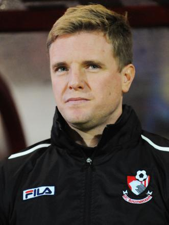 CUTTING EDGE: AFC Bournemouth boss Eddie Howe