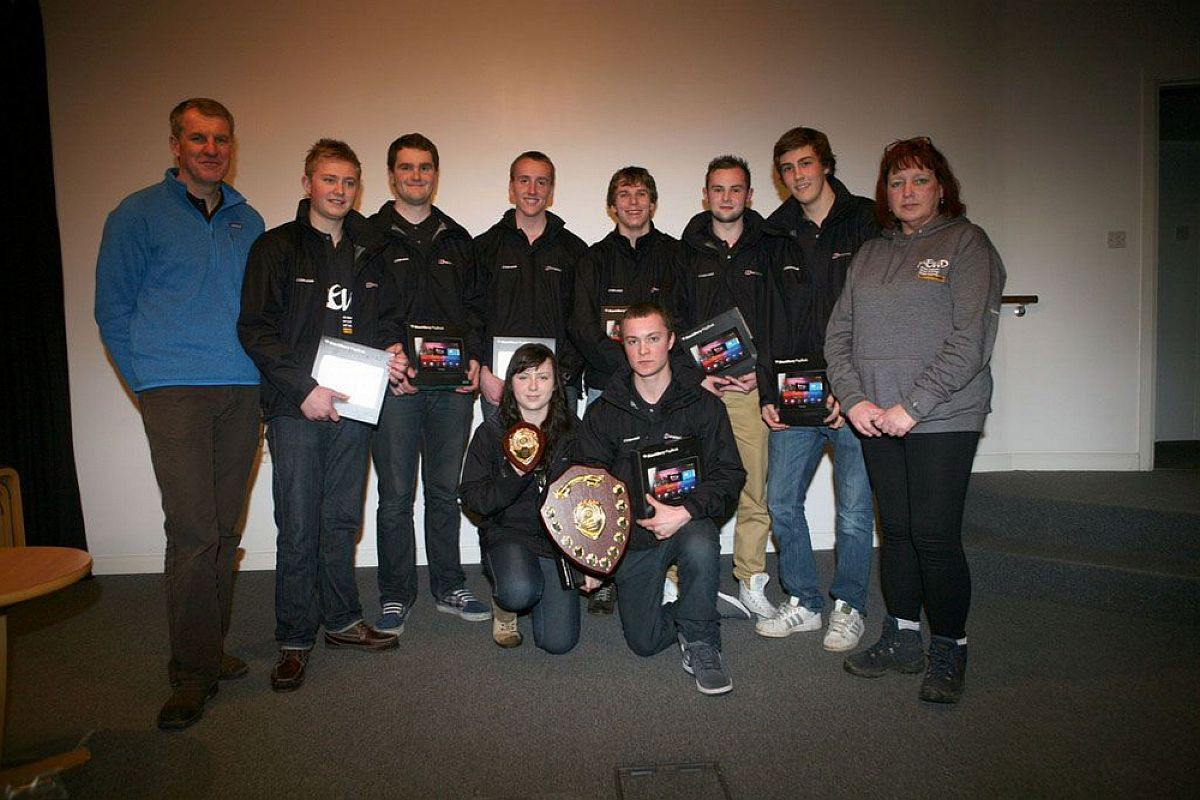 SUCCESS: The 2012 winning Cobham team