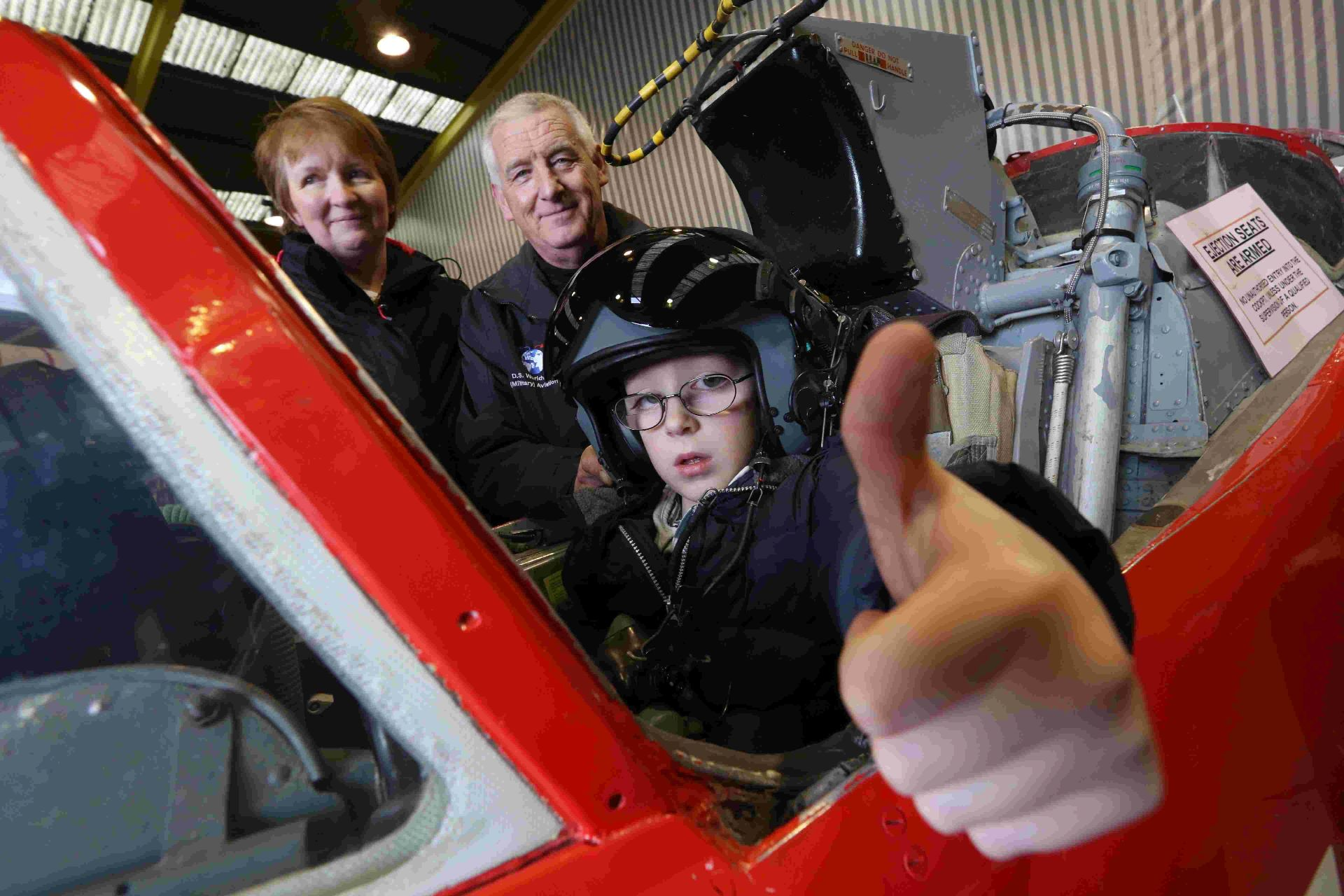 VIDEO: Six-year-old Elliot lives his firefighter and pilot dream as fundraising continues for operation