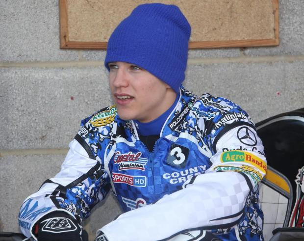 HIGH HOPES: Poole Pirates star Shamek Pawlicki