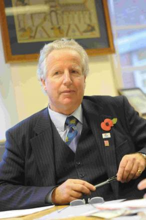 Prestigious: New Lord-Lieutenant Angus Campbell