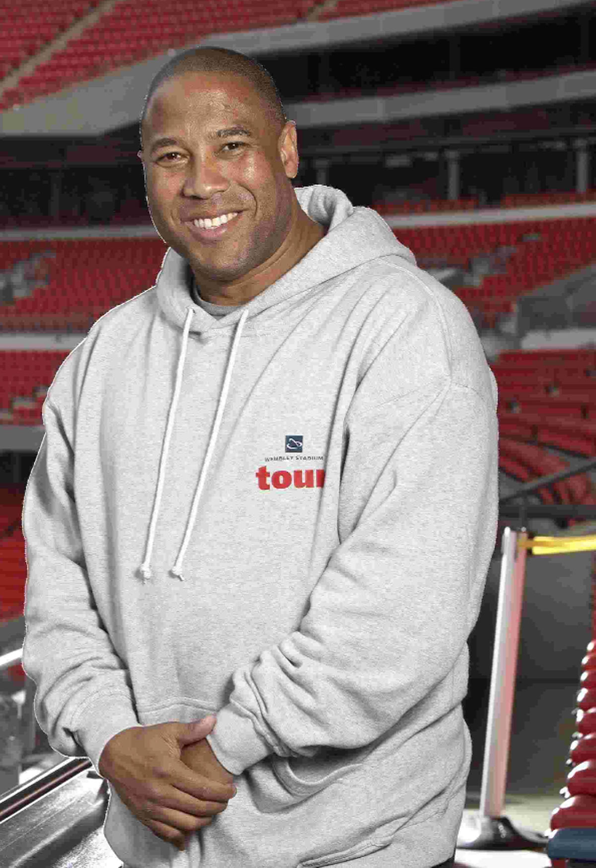 Can you keepy-uppy like a pro? Darren Anderton and John Barnes launch challenge in Bournemouth