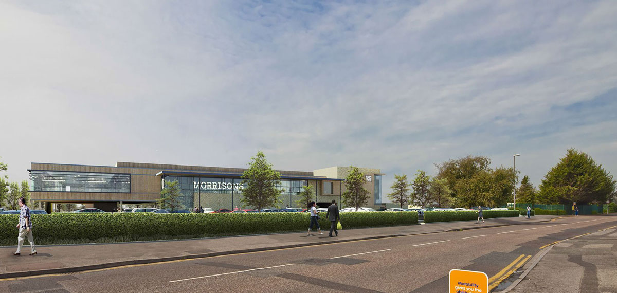 Morrisons supermarket scheme for Christchurch rejected - for third time