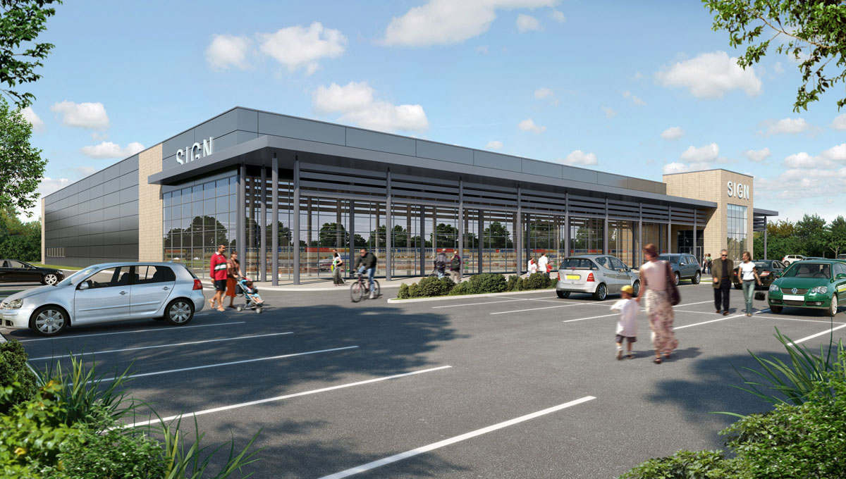 Revised Somerford supermarket plans refused by Christchurch council