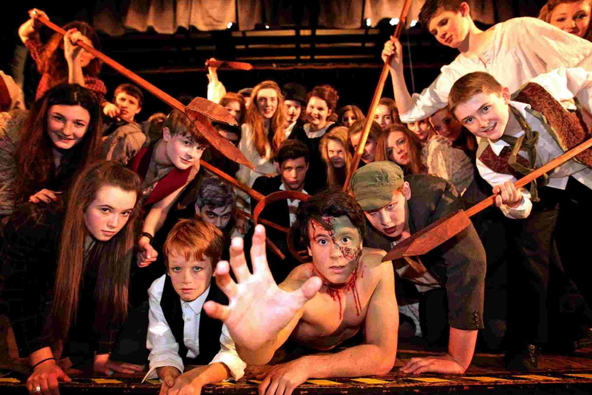 IT'S ALIVE: Students from Bournemouth School and Bournemouth School for Girls put on a musical adaptation of Frankenstein