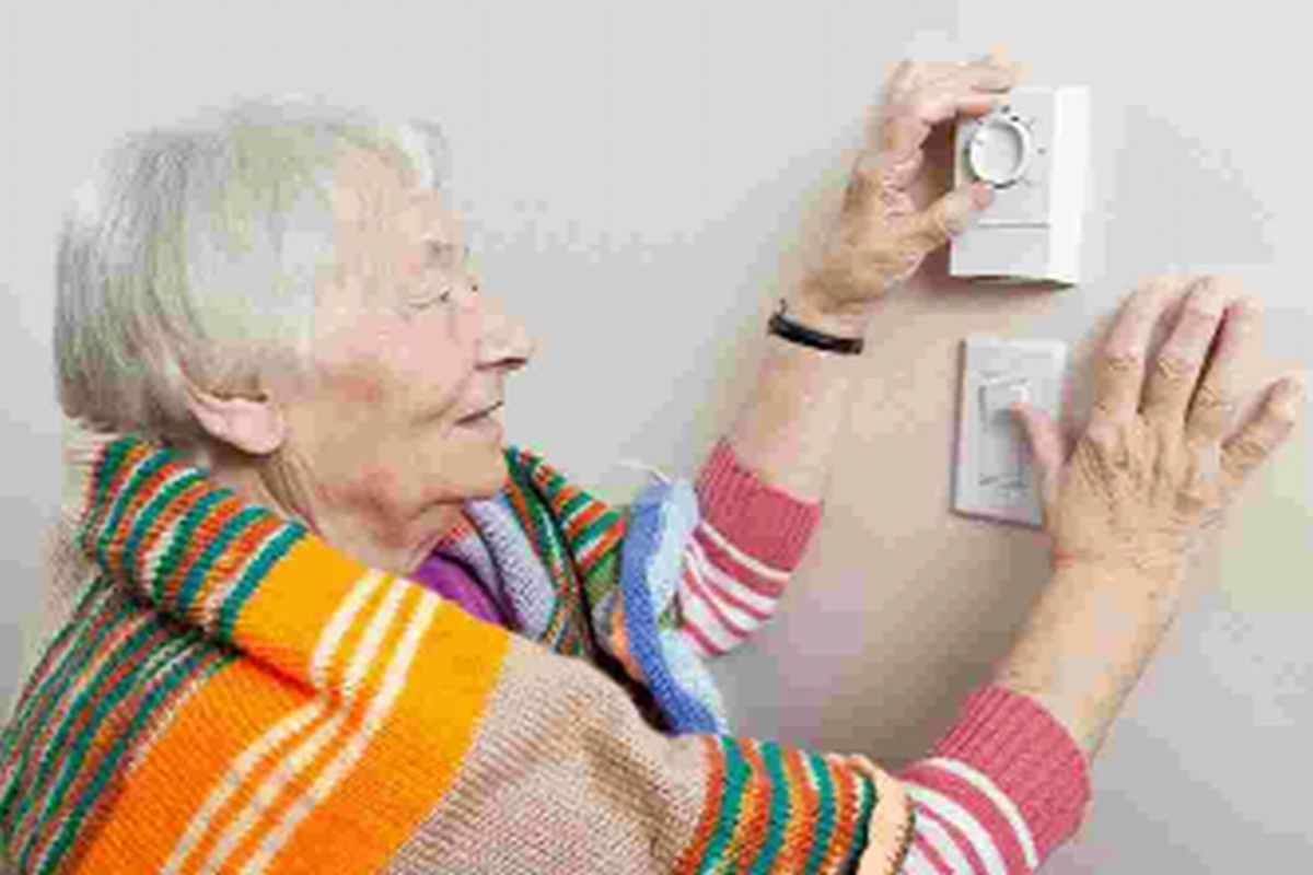 COLD COMFORT: Some pensioners can't afford to heat their homes.