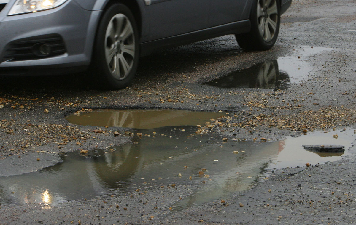Pothole repair bill could be as much as £135k after 1,800 reported in just three weeks