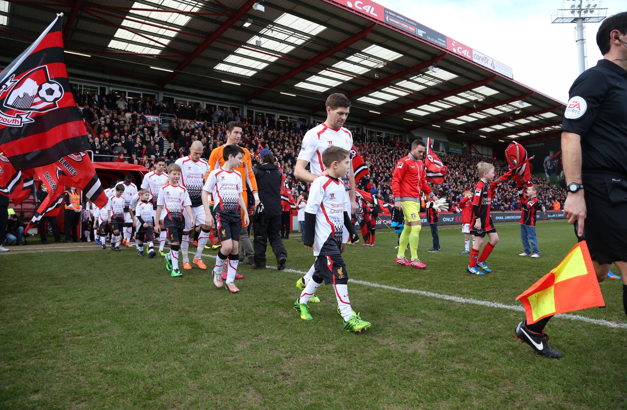 Bournemouth Echo Afc Bournemouth V Liverpool In The Fourth Round Of The Fa Cup On