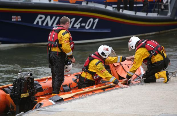 Poole RNLI lifeboat station second busiest in the south west last year