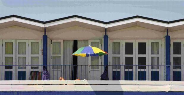 SOUGHT AFTER: People are being asked to pay £25 to join each of the six beach hut waiting lists in Bournemouth