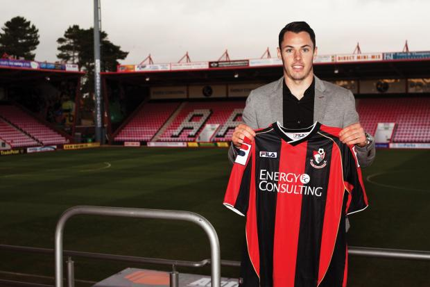 SPURS DEPARTURE: Adam Smith has penned a three-and-a-half-year deal at Dean Court