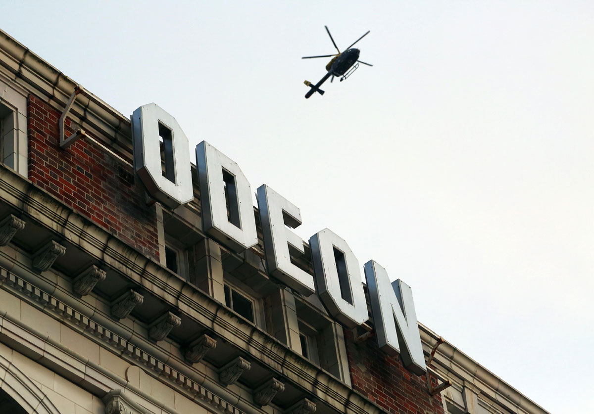 Wanted man spotted on roof of Odeon in Bournemouth still not traced