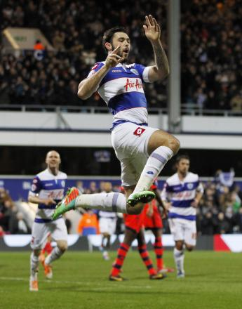 PROLIFIC: QPR striker Charlie Austin