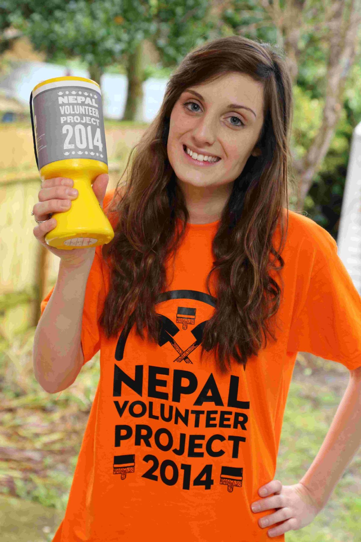 DONATION:  Student nurse Natalie Bray is raising funds  for a trip to Nepal as part of a volunteer project