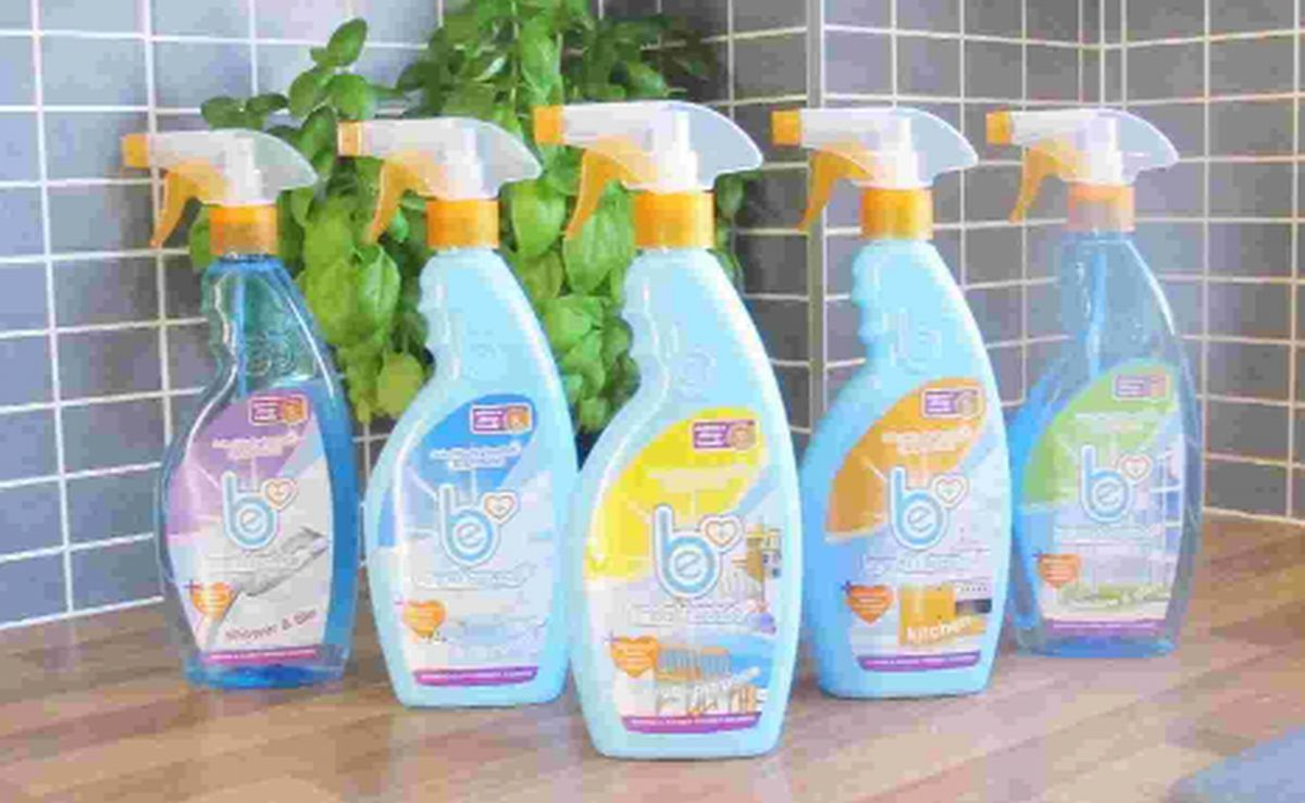 Asthma-friendly cleaning products