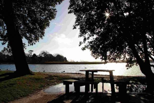 Bournemouth Echo: TRANQUIL: Poole Park