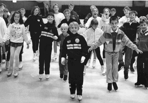 FUN: The Westover Road ice rink, Poole, in 1989