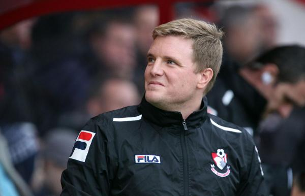 POSITIVE OUTLOOK: AFC Bournemouth boss Eddie Howe
