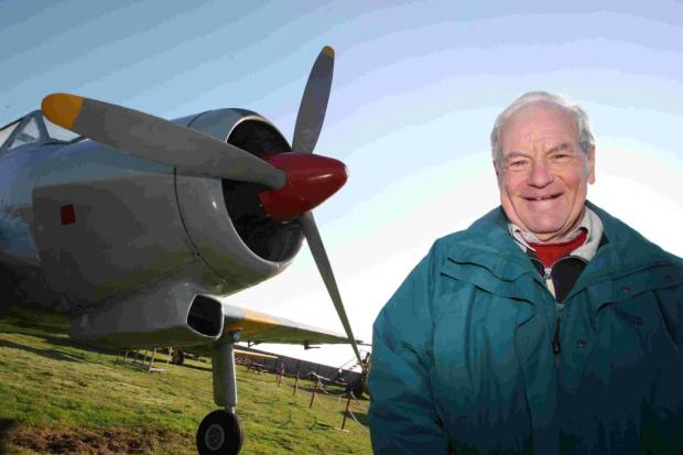HOPEFUL: David Marsh, chairman of the trustees at  Bournemouth Aviation Museum at Hurn