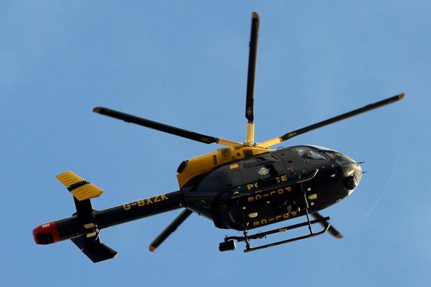 Police helicopter launched in search for two would-be burglars in Christchurch