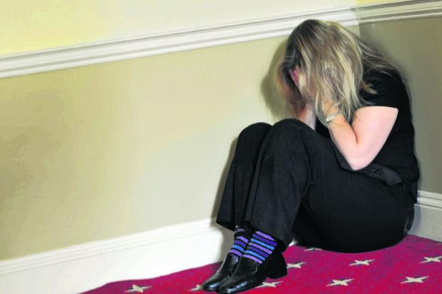 Bournemouth Echo: VICTIM: Domestic violence is on the increase