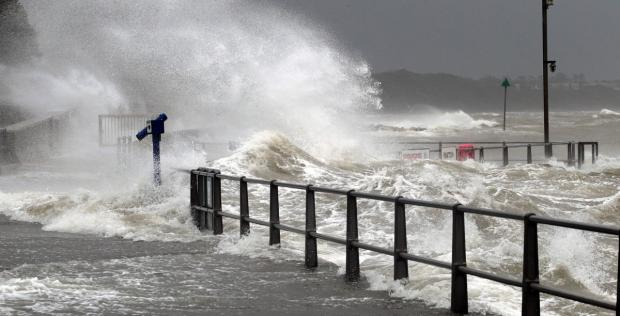 Bournemouth Echo: More severe weather on the way says Met Office as Dorset braced for more wind and rain