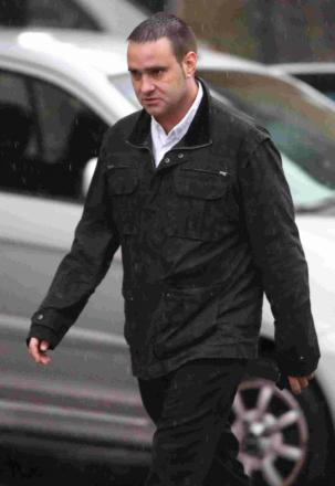 GUILTY PLEA: David Howett appearing at Bournemouth Magistrates' Court to face assault charges