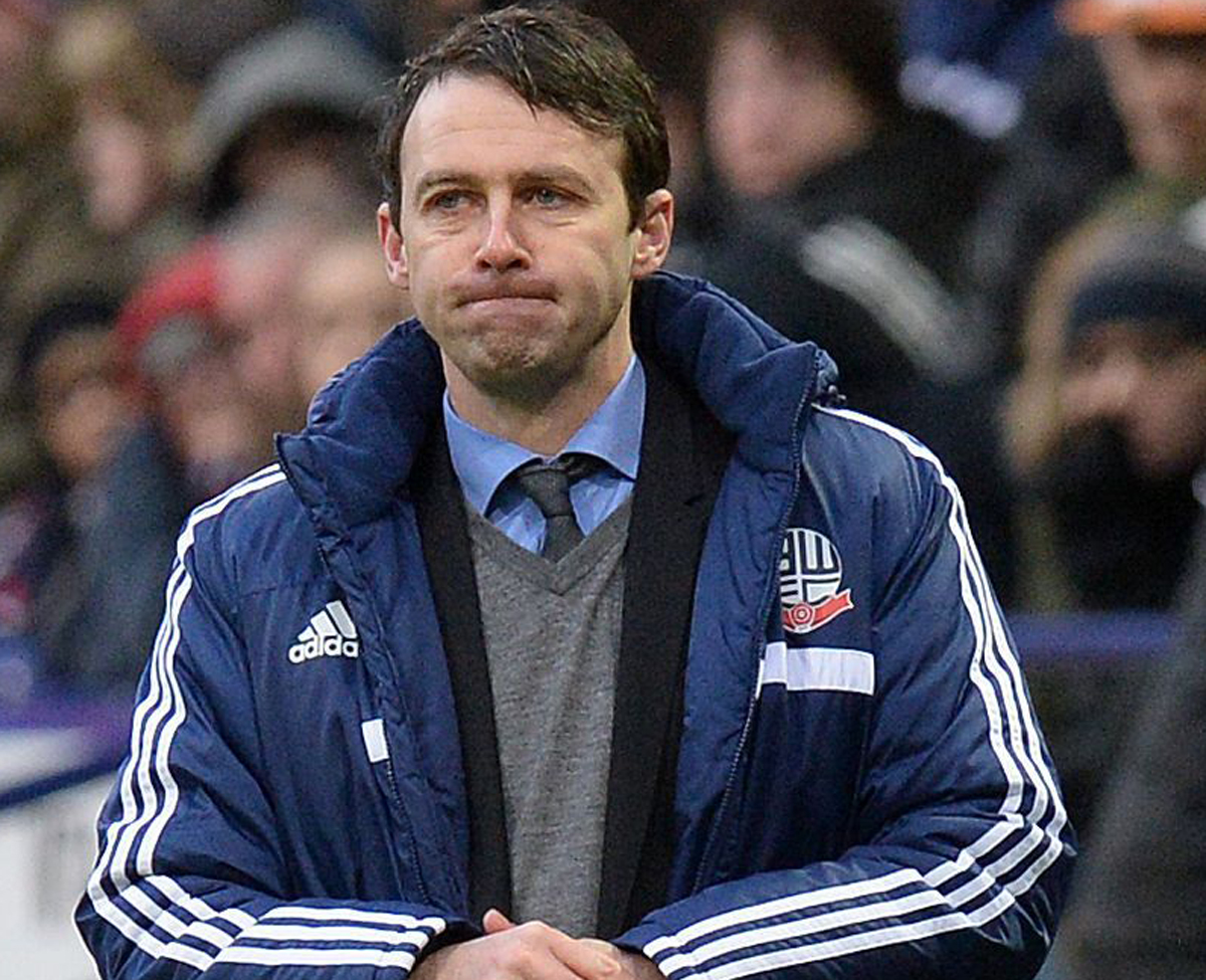 UNDER PRESSURE: Trotters manager Dougie Freedman