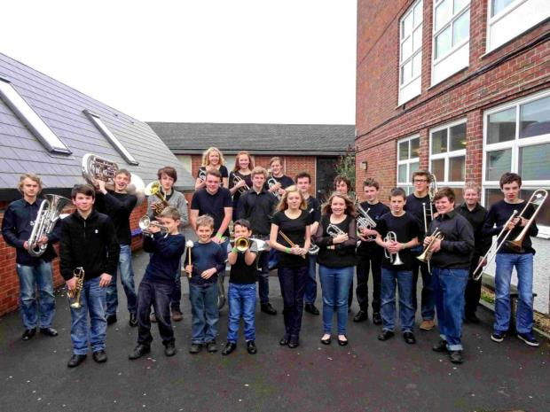 Bournemouth Echo: CONCERT BRASS: The Verwood Youth Band