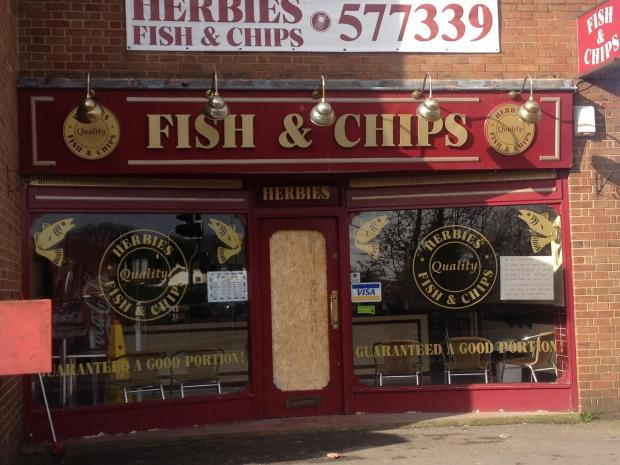 Early hours blaze damages fish and chip shop