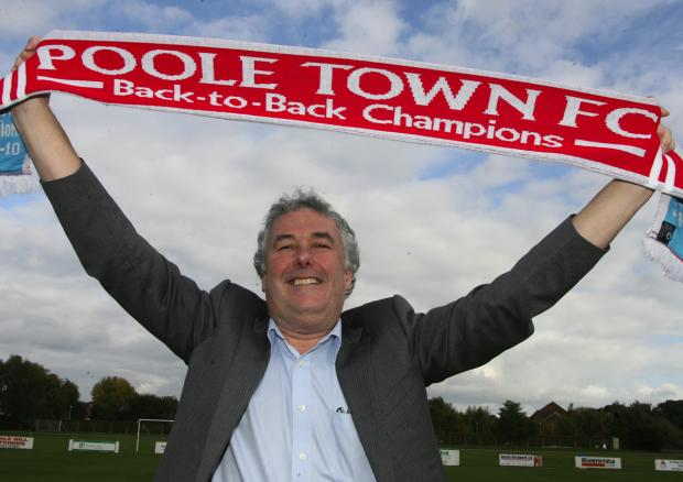 CONFIDENT: Poole Town vice-chairman Chris Reeves