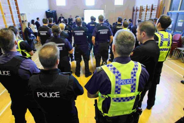 Bournemouth Echo: WATCHING BRIEF: Dorset Police officers