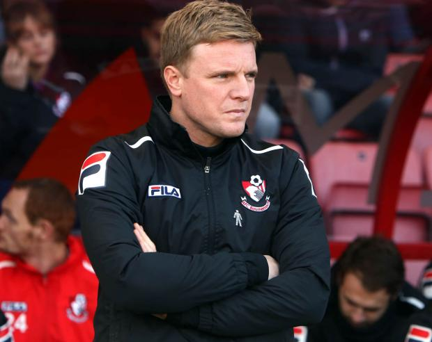 IN CHARGE: Eddie Howe
