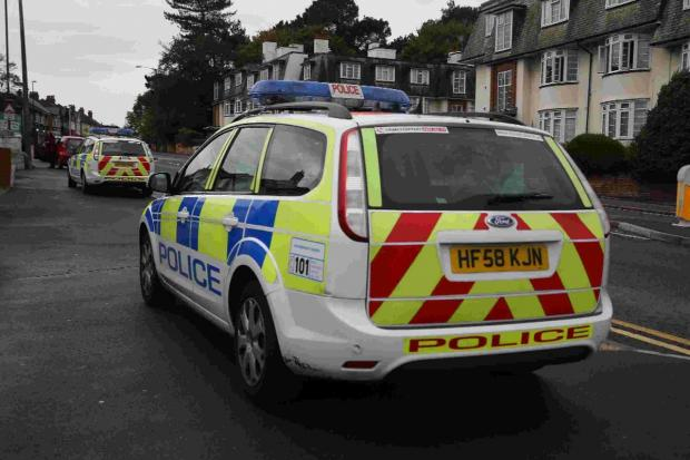 Bournemouth Echo: POLITICAL: Dorset Police at work