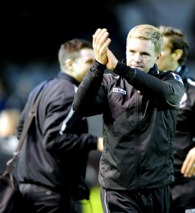 BOSS: AFC Bournemouth's Eddie Howe