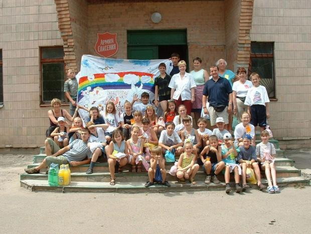 SPECIAL APPEAL: Children in Ukraine who have been helped by the work of the Vision of Hope mission
