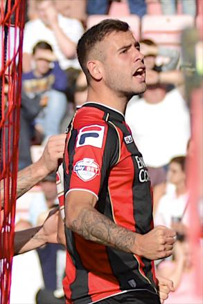 RESOLUTE: Cherries defender Steve Cook