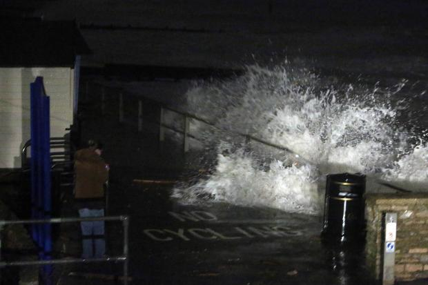 Bournemouth Echo: Homes in Bournemouth and Poole still without power after violent storms hit Dorset