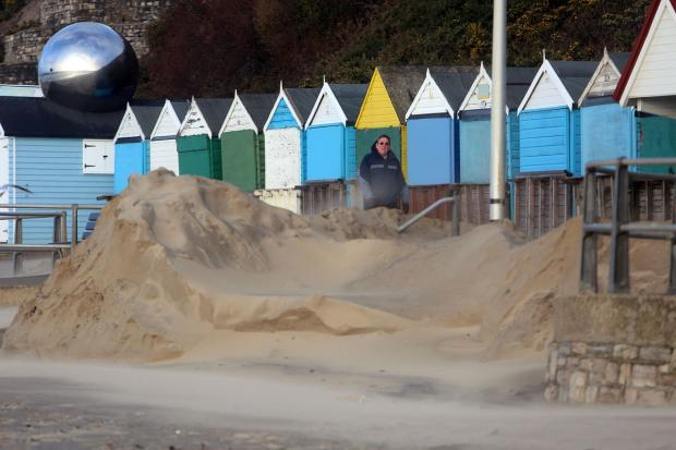 Bournemouth Echo: Can you help join in with Bournemouth beach clean-up today after violent storm?