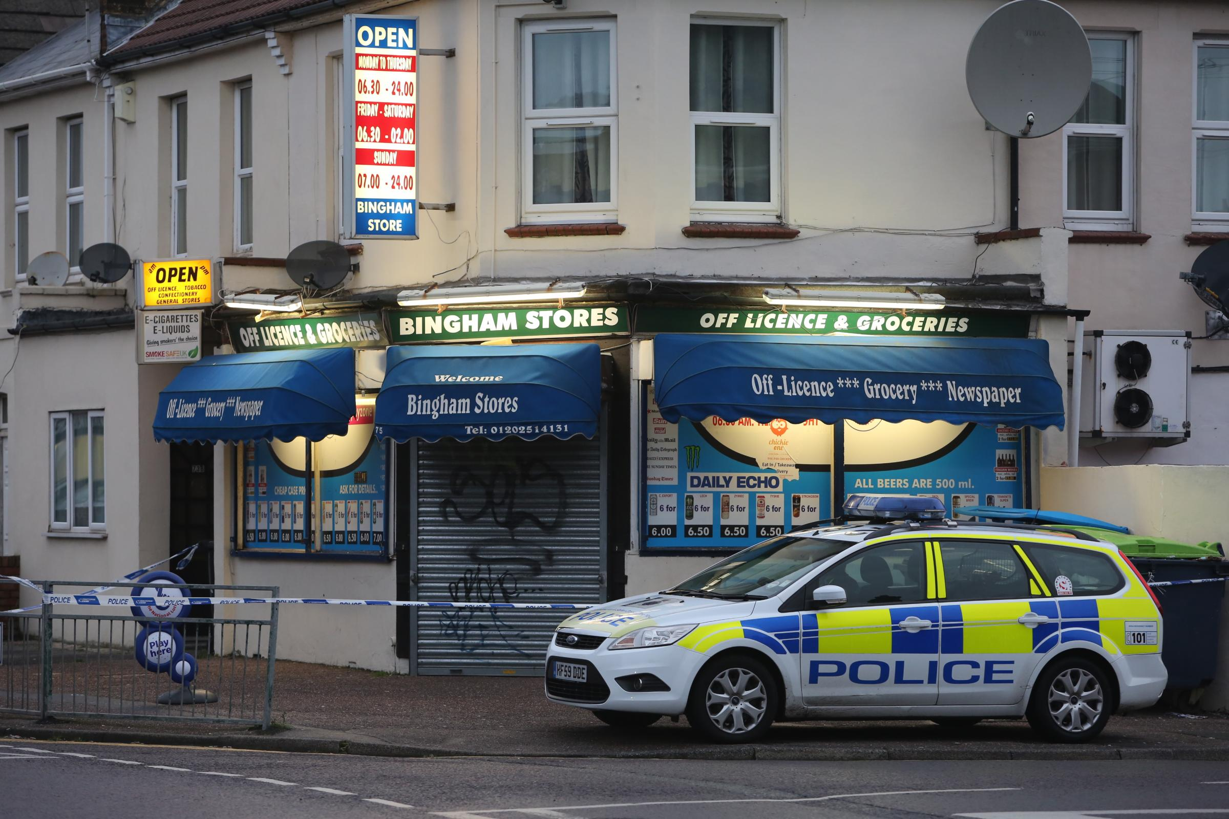 Convenience store in Charminster sealed off by police after 'armed robbery'