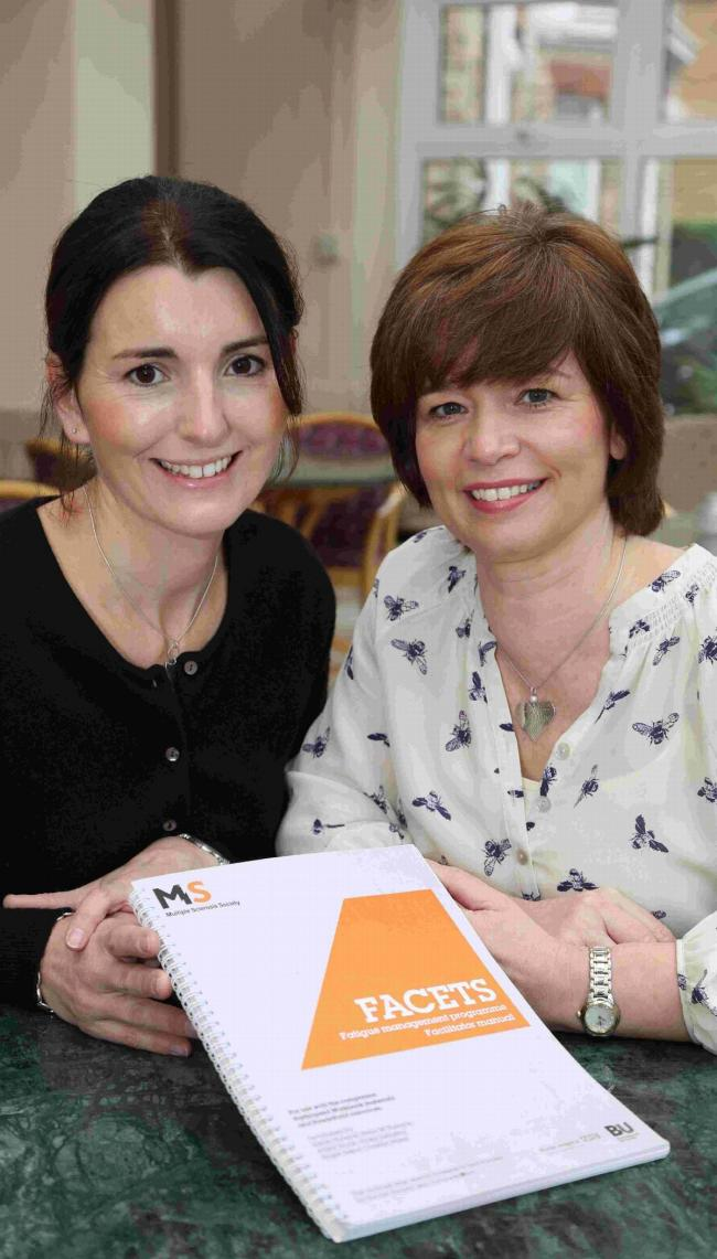 Vicky Slingsby and Alison Nock have developed Facets to help MS patients