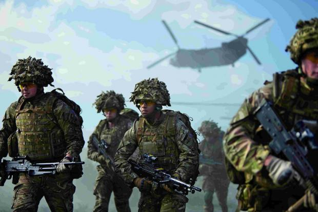 APPEAL: The Army is recruiting in Poole