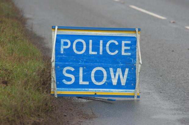 A35 in Lyndhurst blocked after car overturns