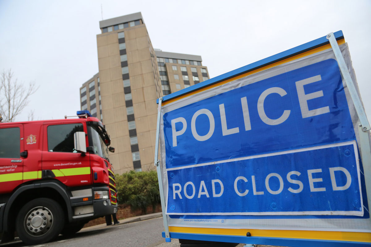 UPDATE WITH VIDEO: E-cigarette on charge sparks fire at 9th floor of building in Poole