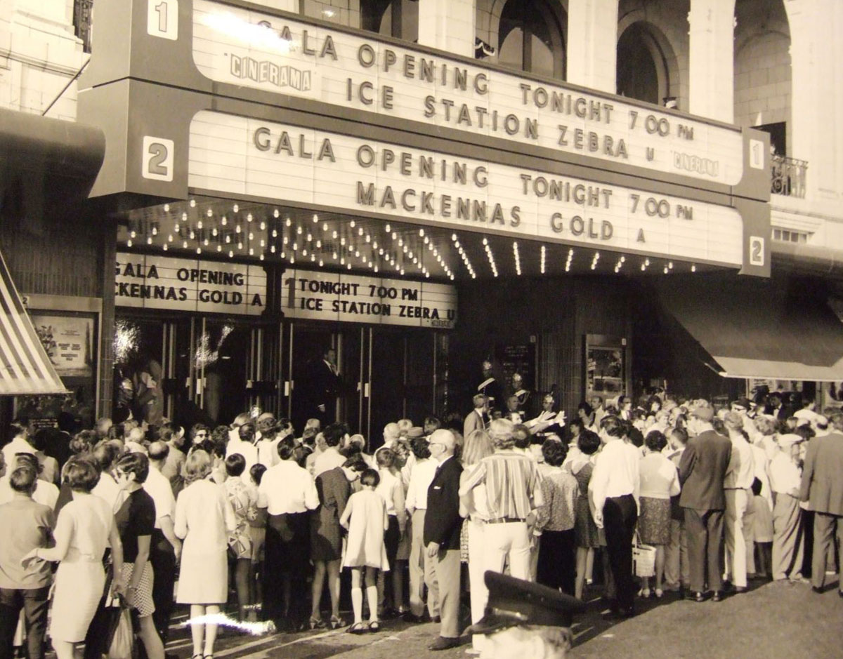 The gala re-opening of Bournemouth's Gaumont Cinema. Picture from Guy Walker.